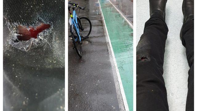 Biciclist rănit la Timișoara