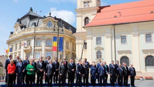 Declarația de la Sibiu. Sursă foto: protv.ro.