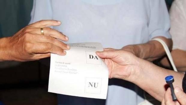 S-a făcut pragul la referendum!