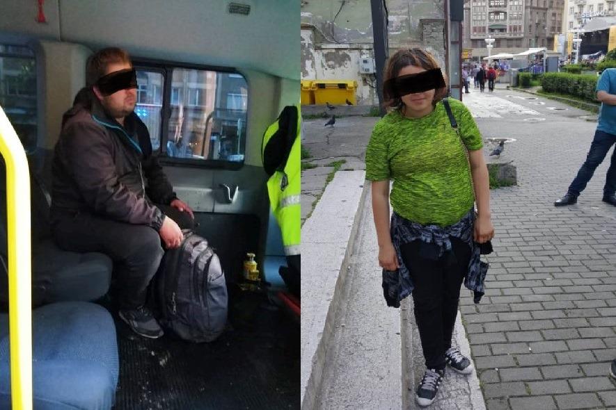 O tânără dispărută, găsită de polițiști în centrul Timișoarei, în fața unui fast-food