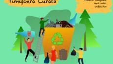 Tineri voluntari din Timișoara, reuniți pentru un oraș mai curat