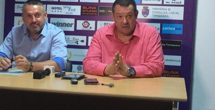 Dragan Petricevic a revenit la SCM Timișoara