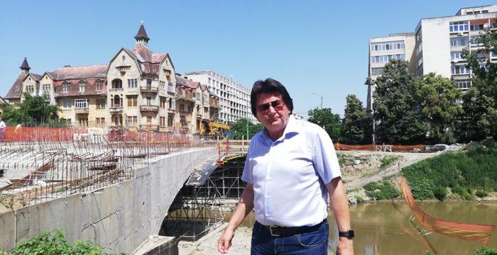 Nicolae Robu la Podul Dragalina