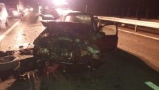Accident pe Autostrada A1