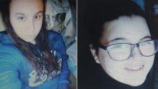 Două fete, date dispărute
