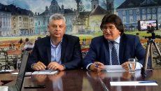 Sorin Drăgoi, alături de Nicolae Robu