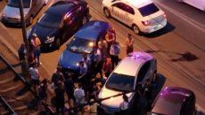 Conflict încheiat într-o baltă de sânge, noaptea trecută, în Calea Șagului din Timișoara