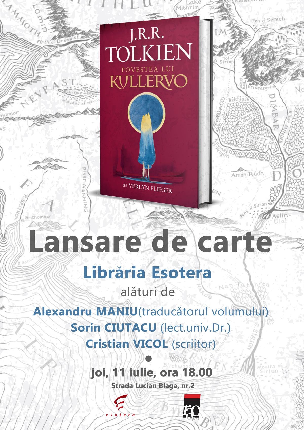 Povestea lui Kullervo lansare Esotera