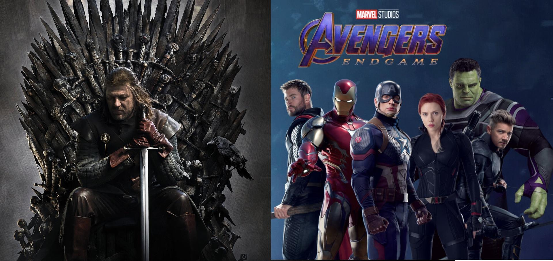 Game of Thrones vs. Avengers
