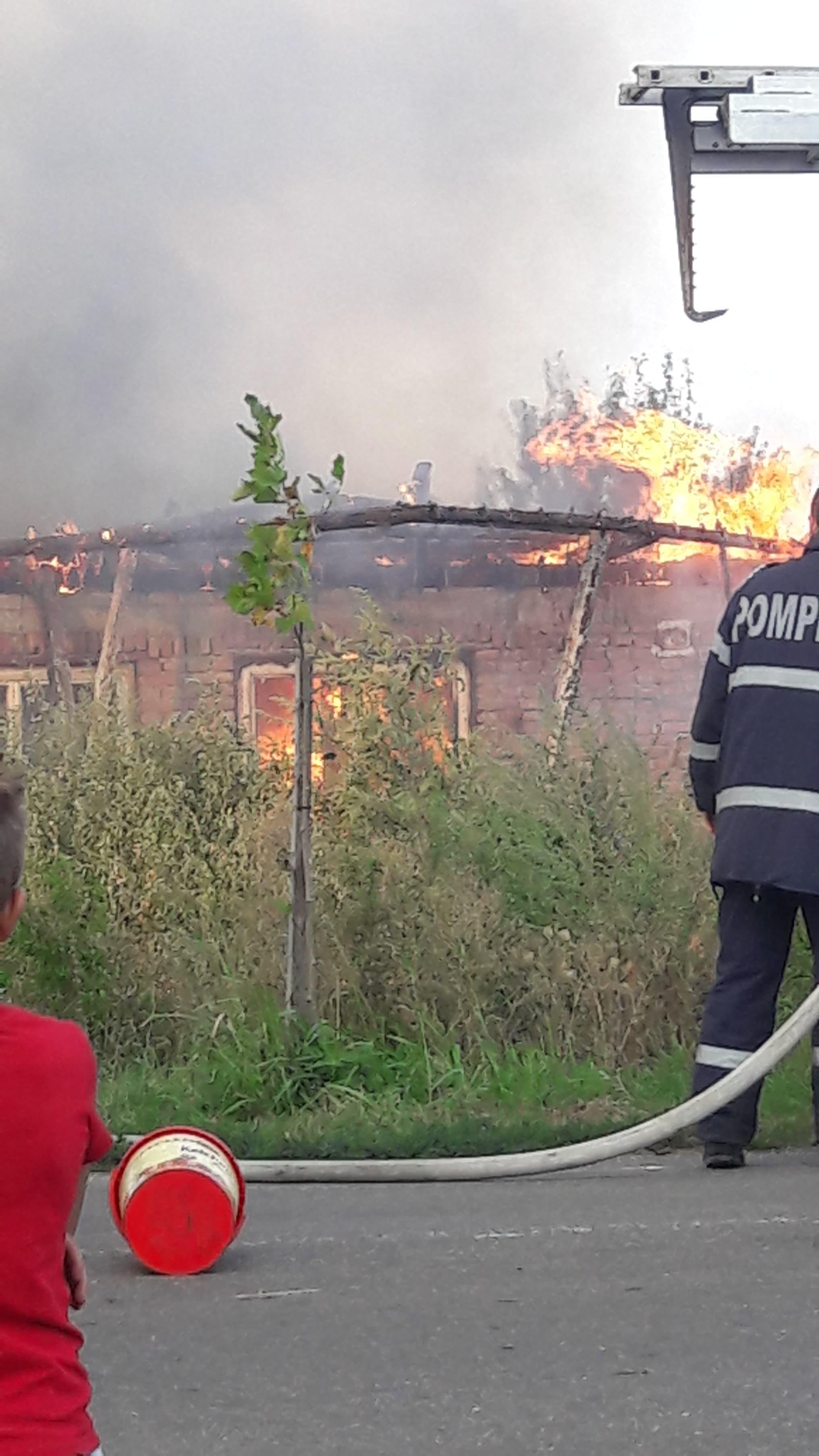 Incendiu în Tomnatic