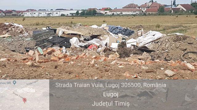Primăria Lugoj a fost amendată cu 10.000 de lei de comisarii Gărzii de Mediu