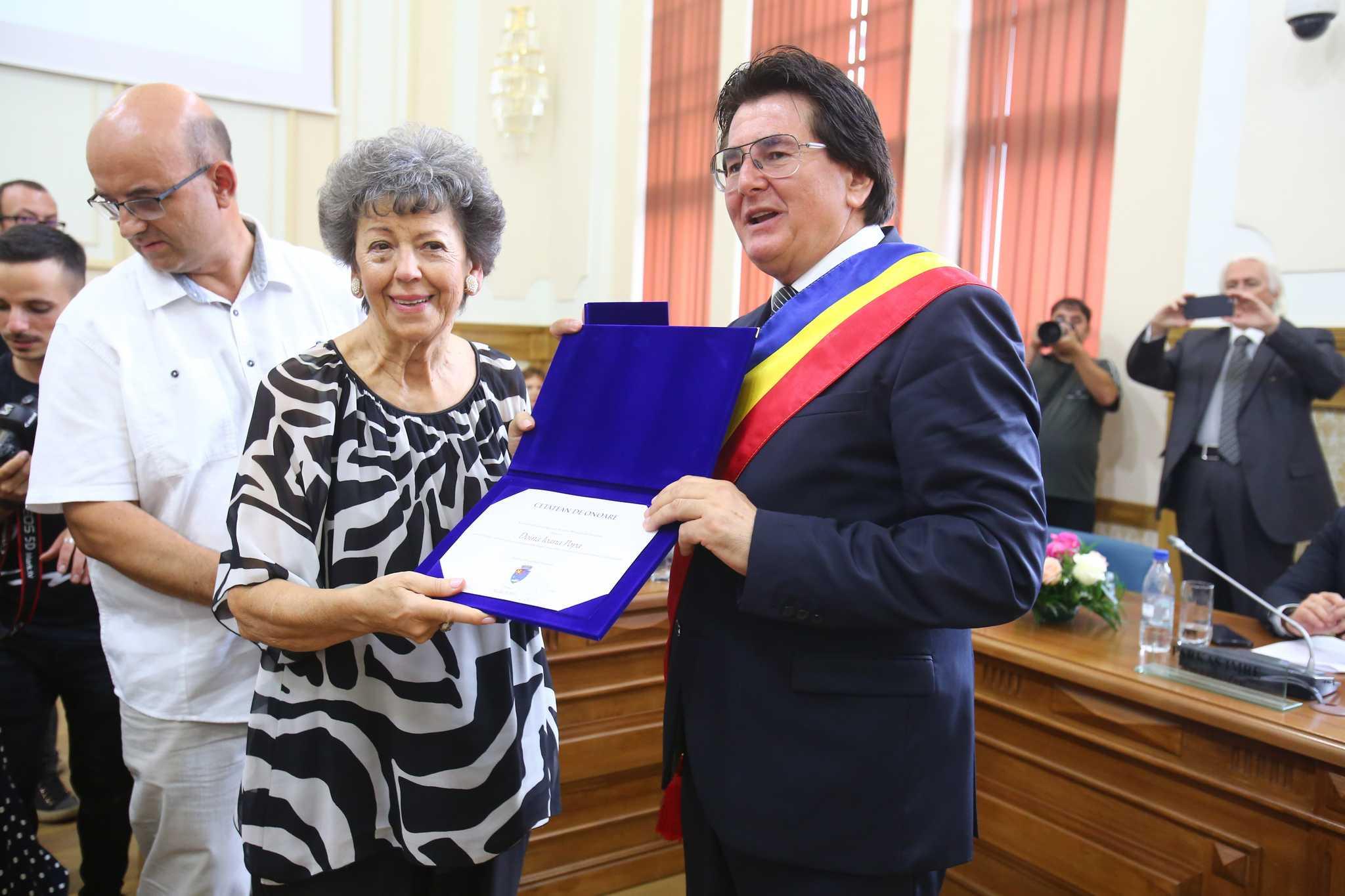 Cetatean de onoare, Timisoara