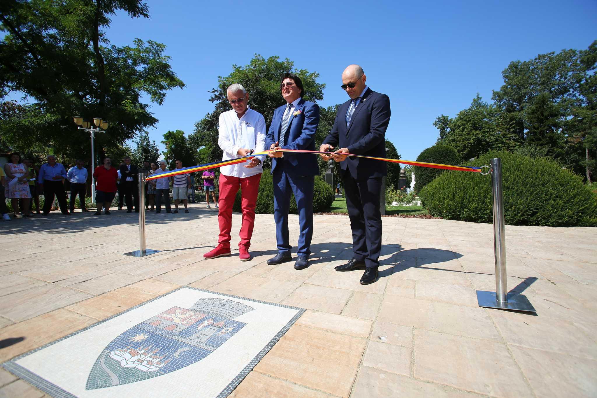 Nicolae Robu la redeschiderea Parcului Central
