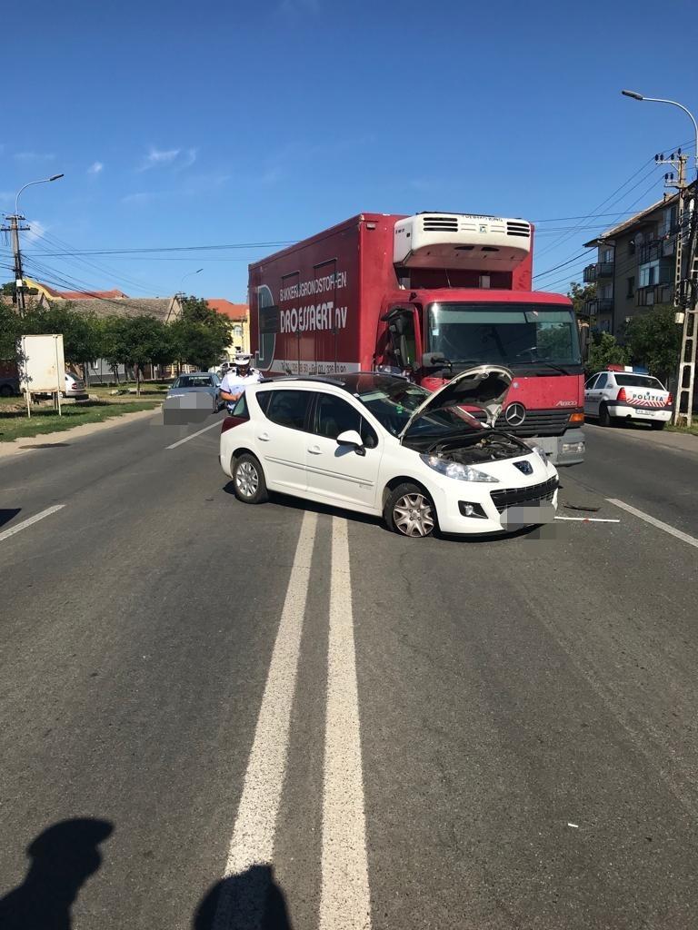 Accident rutier în Sânnicolau Mare
