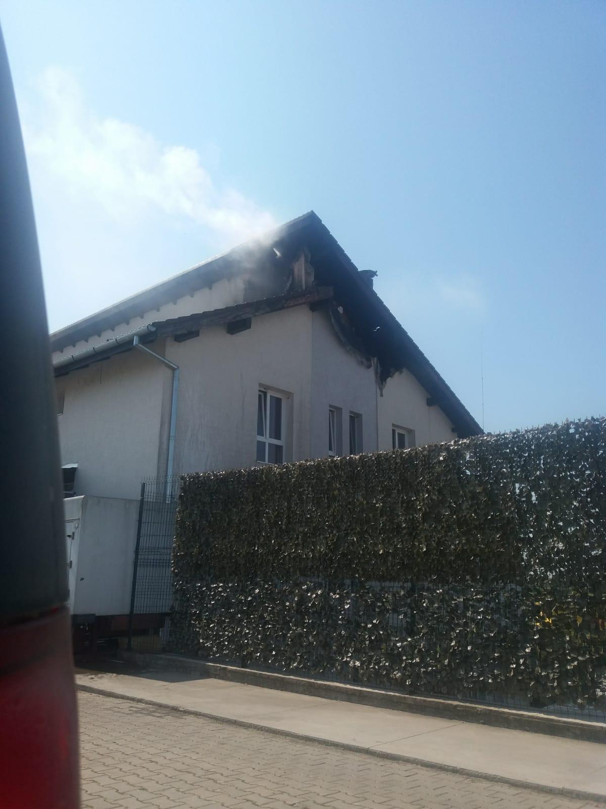Incendiu la un restaurant de pe centura Lugojului