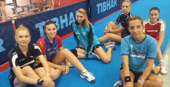 echipa Romaniei fete tenis de masa