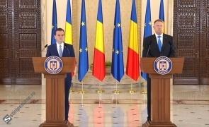 Ludovic Orban şi Klaus Iohannis