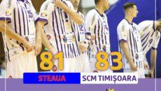 Steaua - SCM Timisoara