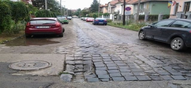strada cu piatra cubica