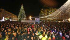 iluminat festiv Piata Operei