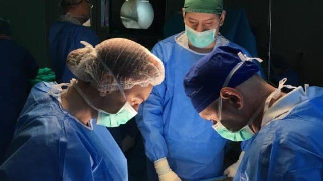operatie cu grefon