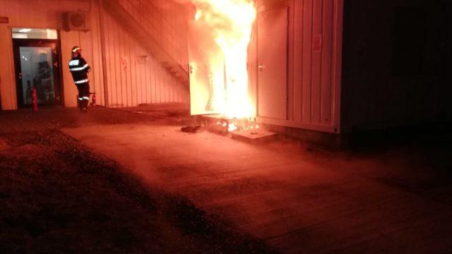 incendiu Ghiroda