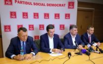 Paul Stanescu, Sorin Grindeanu, Marcel Ciolacu, Alfred Simonis
