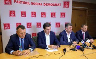 Paul Stanescu, Sorin Grindeanu, Marcel Ciolacu, Alfred Simonis