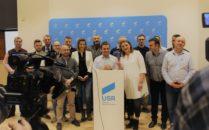 Cristian Mos si candidatii USR