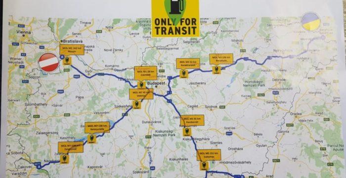 statii carburanti tranzit