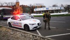 politie si armata pe strazi