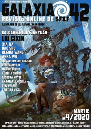 Revista Galaxia 42, science fiction și fantasy