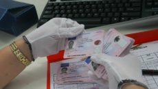 se suspendă susținerea testului de verificare pentru restituirea permisului de conducere