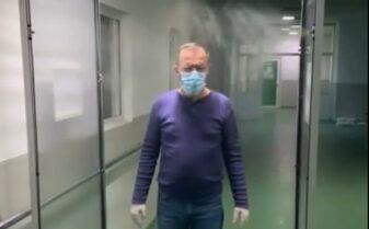 camera decontaminare