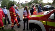 pompierii salveaza un om