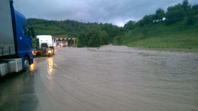 domasnea drum inundat