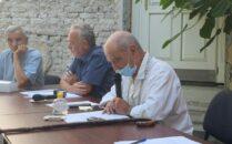 Traian Orban (primul din dreapta)