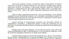 Aquatim a semnat contractul de asistență tehnică pentru Proiectul Regional de dezvoltare a infrastructurii de apă și apă uzată din județul Timiș
