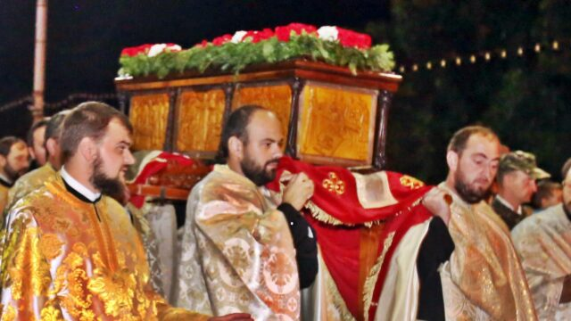 procesiune Sf Iosif cel Nou