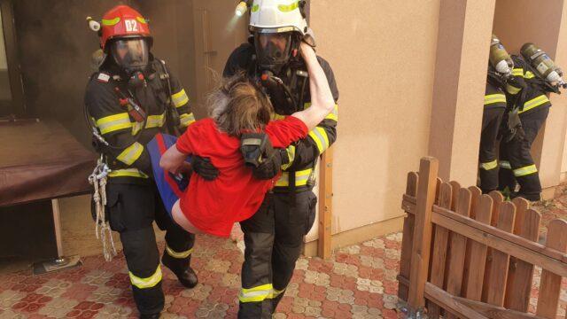 pompieri salvatori