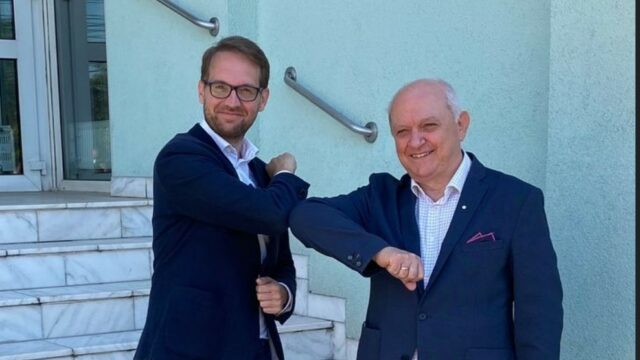 Dominic Fritz si Ioan Fernbach