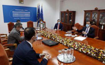 Raul Patrascu, intalnire cu Ludovic Orban