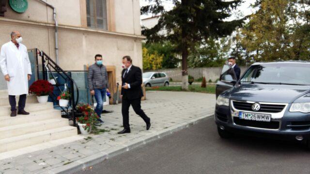 Nelu Tataru la Spitalul Victor Babes