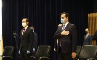 Alin Nica si Ludovic Orban
