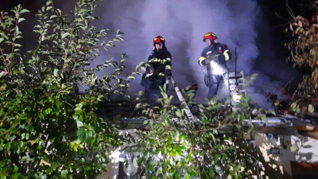 incendiu Dumbravita