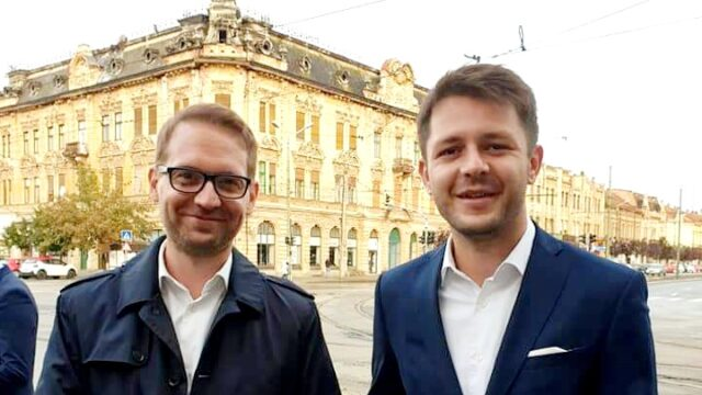 Dominic Fritz si Ruben Latcau