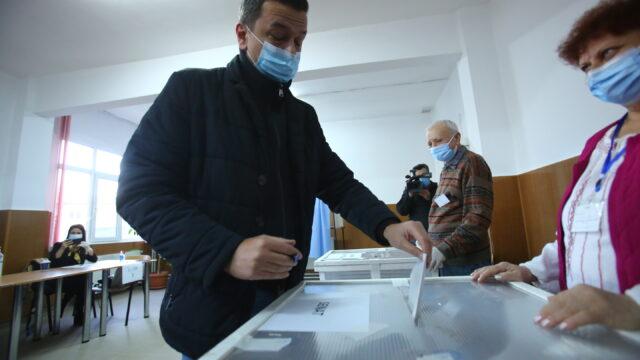 Sorin Grindeanu vot