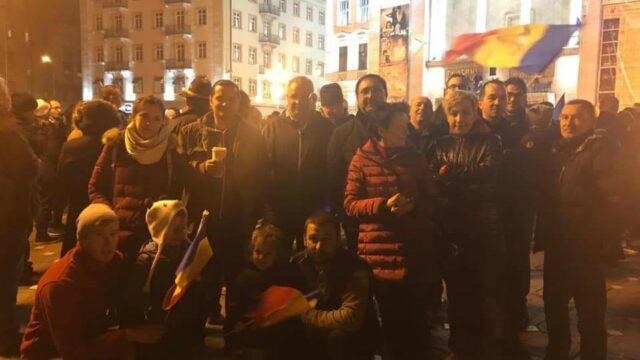 Cristian Mos proteste