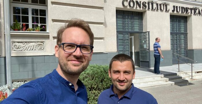 Dominic Fritz si Cristian Moș