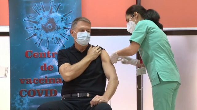 Klaus Iohannis vaccin
